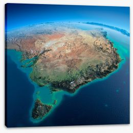 Australia Stretched Canvas 62202940