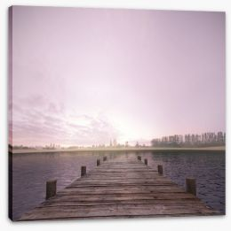 Jetty Stretched Canvas 62352477