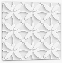 Daisy circles Stretched Canvas 62475719