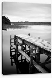 The empty jetty Stretched Canvas 62508219