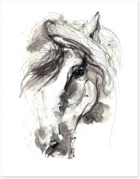 Purebred beauty Art Print 62827855