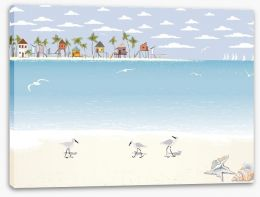 Beaches Stretched Canvas 62903893