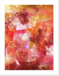 Autumn ochre Art Print 63973741