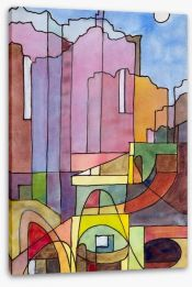Cubism Stretched Canvas 64019961