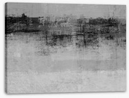 Black and White Stretched Canvas 64253393