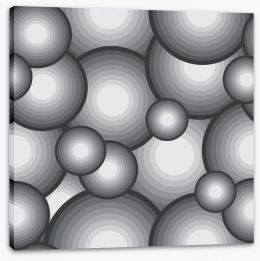 Shades of grey Stretched Canvas 64479375