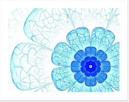 Blue burst