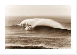 Crashing waves Art Print 64788865