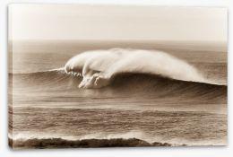 Crashing waves Stretched Canvas 64788865