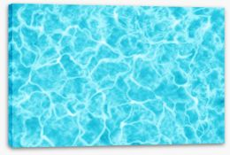 Dive straight in Stretched Canvas 65249793