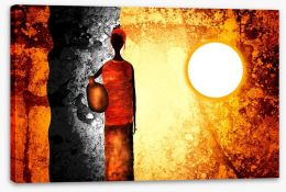 African Art Stretched Canvas 66803932