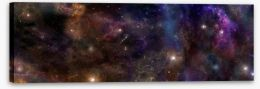 Deep space panorama Stretched Canvas 67578633