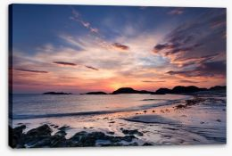 Beaches Stretched Canvas 67984242