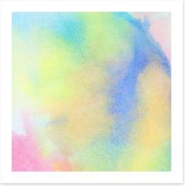 A splash of Spring colour 2 Art Print 68419714