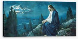The prayer of Jesus Stretched Canvas 68611430