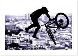 Freestyle tricks Art Print 68749716