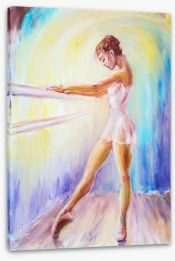 At the barre Stretched Canvas 69081292
