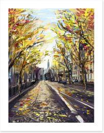 Paris in the fall