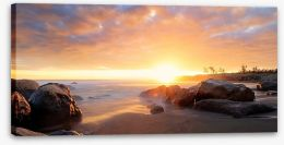Heavenly dusk Stretched Canvas 69429310