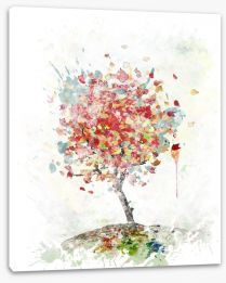 Falling leaves Stretched Canvas 69541077