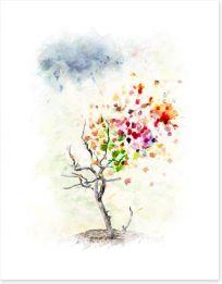 Autumn Art Print 69541699