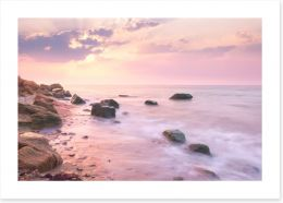 Sunsets / Rises Art Print 69569386