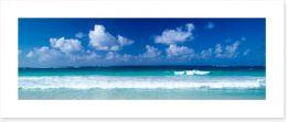 Azure ocean Art Print 69639978