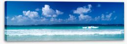 Azure ocean Stretched Canvas 69639978