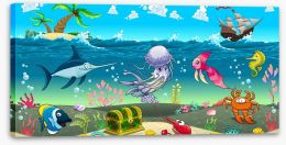 Under The Sea Stretched Canvas 70399116