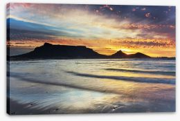 Cape Town sunset Stretched Canvas 72213323