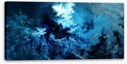 Into the storm Stretched Canvas 73188024