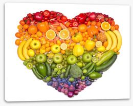 A healthy heart Stretched Canvas 73421875