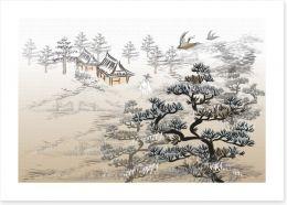 Chinese Art Art Print 73422759