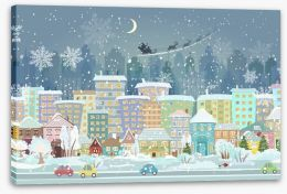 Christmas Eve Stretched Canvas 75250992