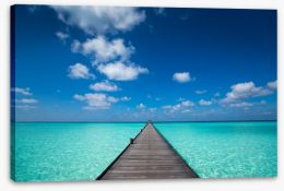 Jetty Stretched Canvas 77014253