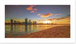 Golden Perth sunrise