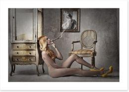 Smokin hot Art Print 77963899