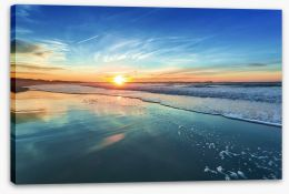 Sunset blues Stretched Canvas 78044983