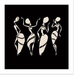 African Art Art Print 78693621