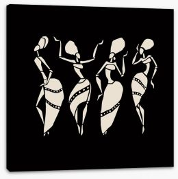 African Art Stretched Canvas 78693621