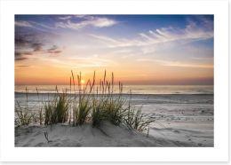 Soft evening calm Art Print 78836386