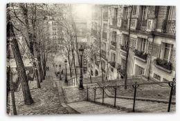 The district of Montmartre, Paris