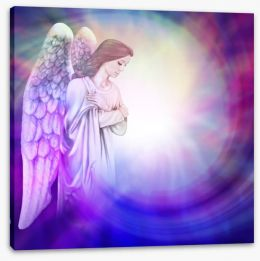 Divine healer Stretched Canvas 79597121