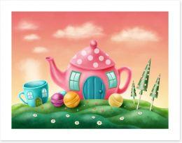 Candyland teapot