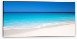 The perfect beach Stretched Canvas 80085062