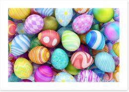 Eggstraordinary Art Print 80107082