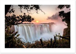 Waterfalls Art Print 80256964