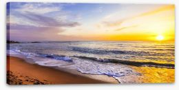 Evening falls Stretched Canvas 80280930