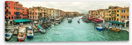Venice panorama Stretched Canvas 80520584