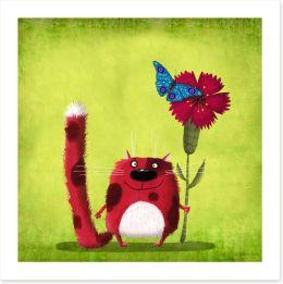 Animal Friends Art Print 80903870